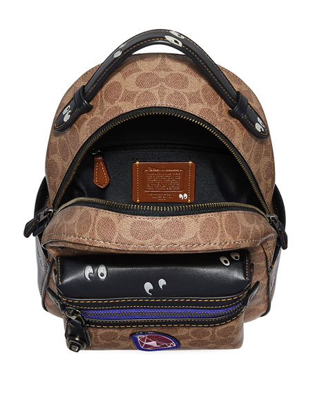 DISNEY X COACH Coated Canvas Backpack