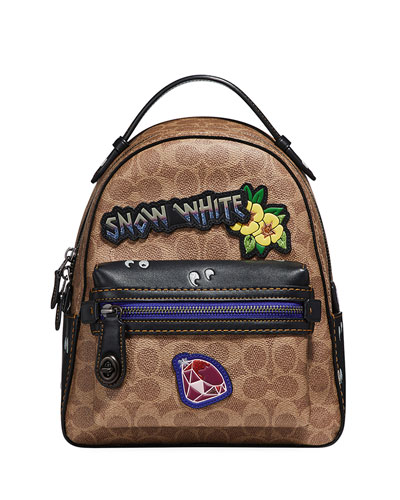 DISNEY X COACH Coated Canvas Backpack