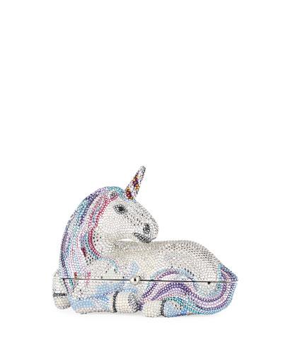 Unicorn Crystal Clutch Bag
