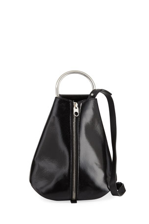 Proenza Schouler Vertical Zip Shiny Backpack