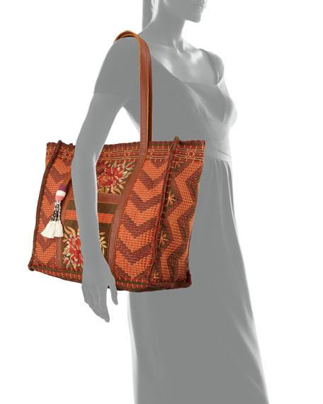 Elim Market Twill Shoulder Tote Bag