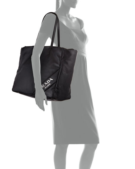 Soft Leather Shopper