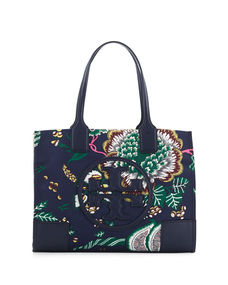 Tory Burch Ella Printed Mini Tote Bag