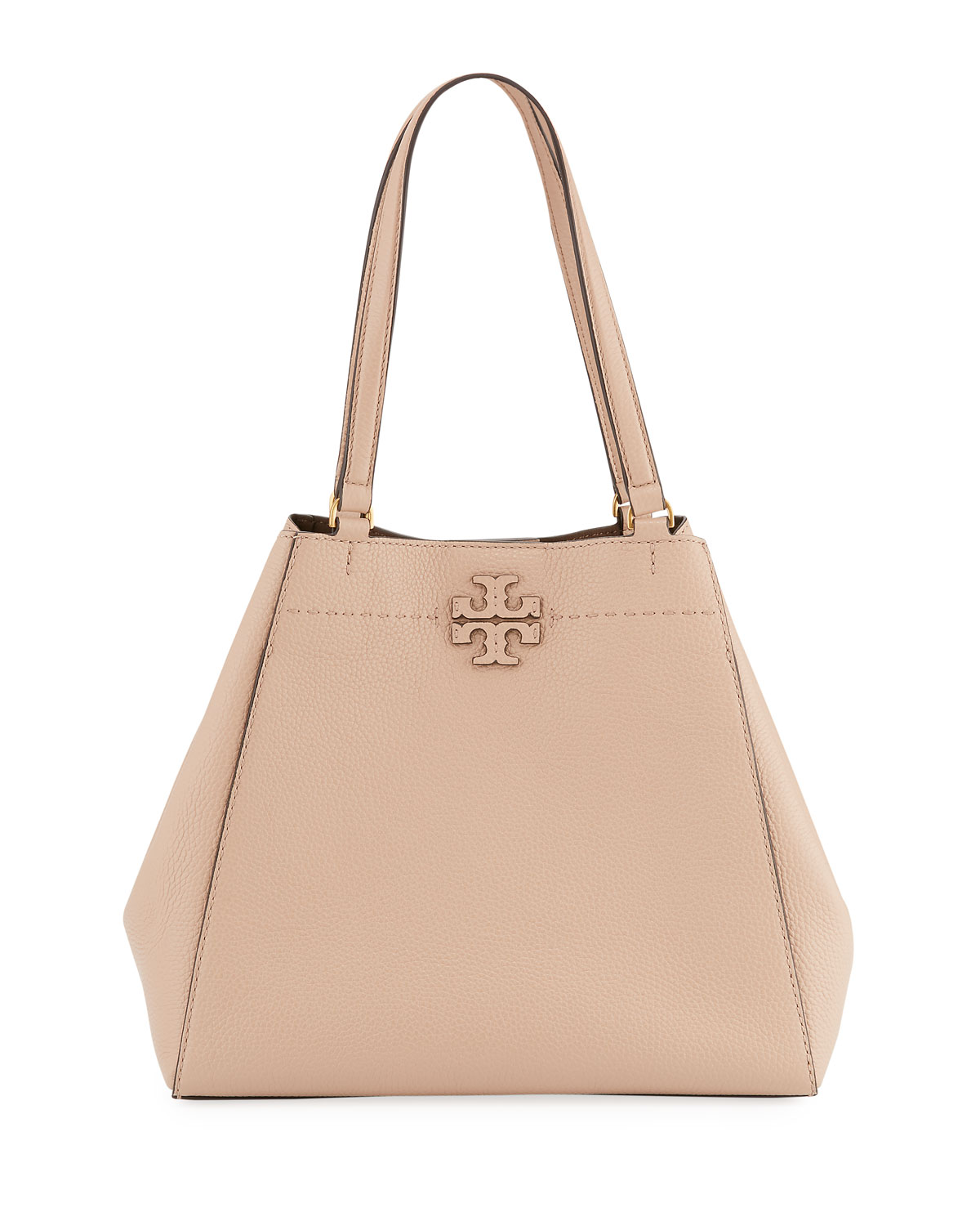 f9f4beaf27c5 Tory Burch McGraw Carryall Leather Tote Bag