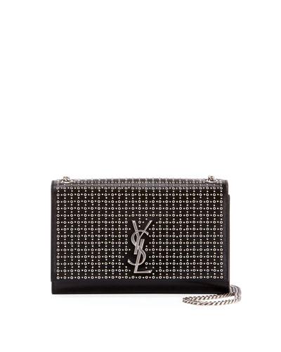 Kate Monogram YSL Medium Oeillet-Stud Chain Shoulder Bag