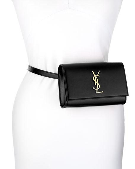 Saint Laurent Kate Monogram Ysl Leather Belt Bag Neiman