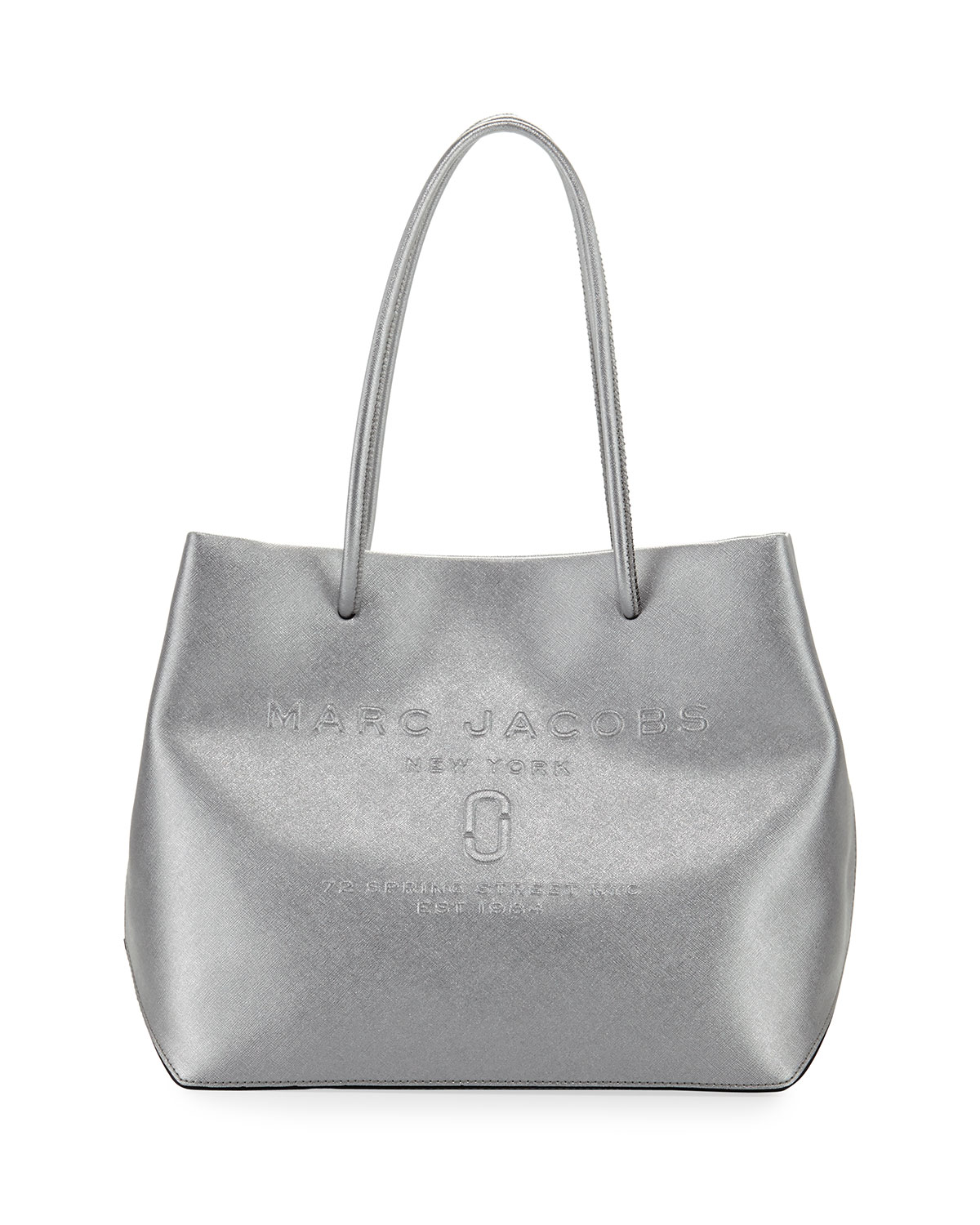 fed31dbca Marc Jacobs Metallic Logo Shopper Tote Bag | Neiman Marcus