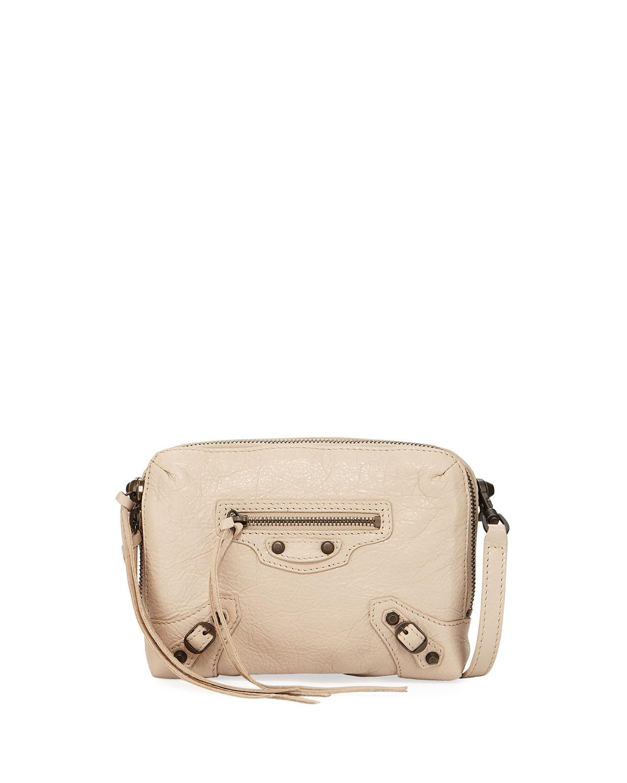 852002a4fbbd4 Balenciaga Classic Reporter XS Lamb Leather Crossbody Bag