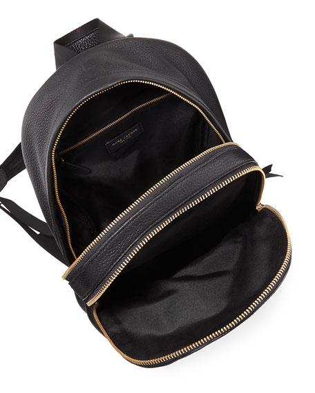Medium Pebbled Leather Backpack