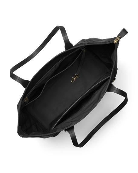 Kelsey Large Nylon Zip Tote Bag