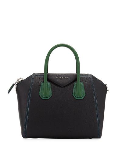 Antigona Small Colorblock Satchel Bag