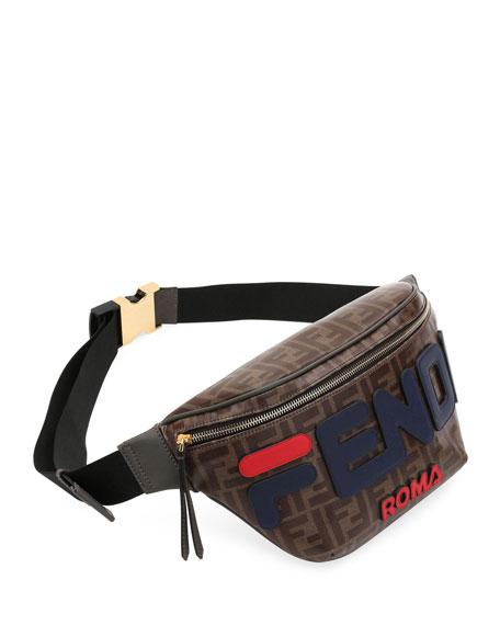 Fendi Runway Collection Calf and Canvas Belt Bag