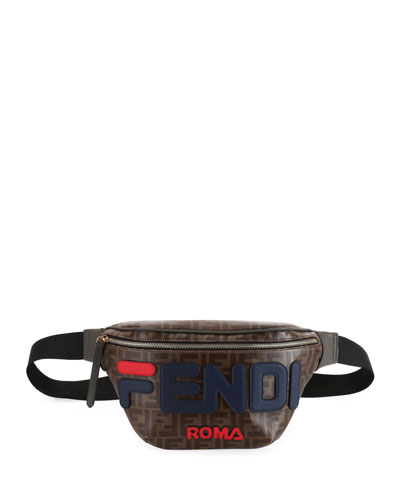 Fendi Runway Collection Calf and Canvas Belt Bag