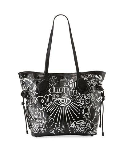Stella Printed Work Tote Bag