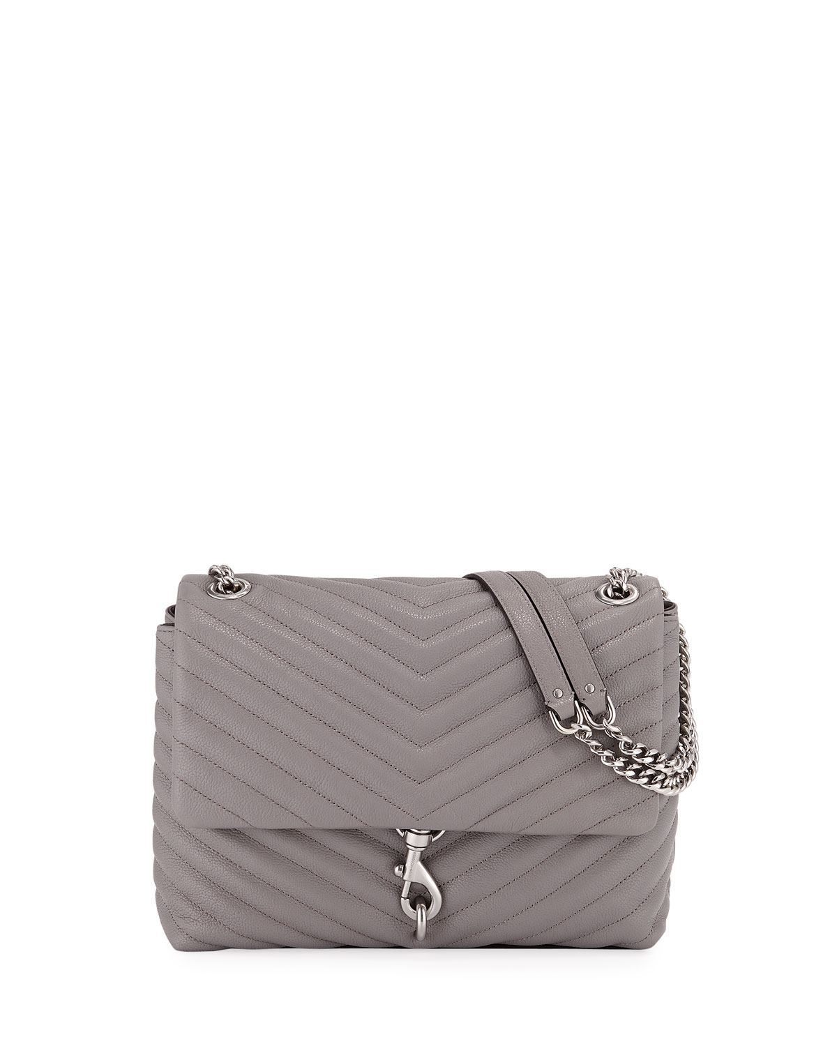 Rebecca Minkoff Edie Quilted Leather Flap Shoulder Bag  100f49a8e