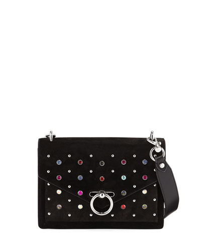Jean Medium Crystal Shoulder Bag