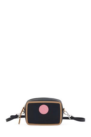 Fendi Cam Calf Leather Crossbody Bag
