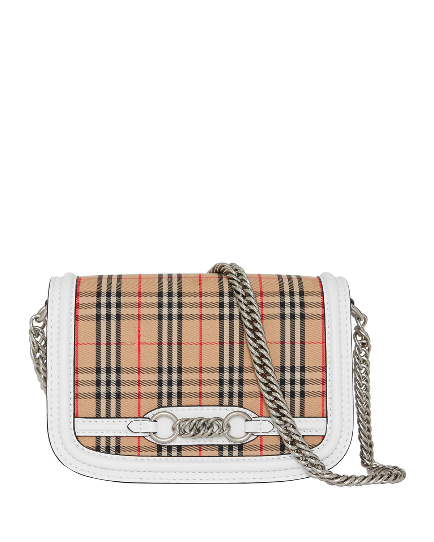 193294803fe0 Burberry 1983 Check Link Shoulder Bag