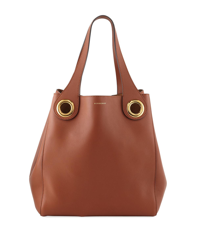 3fe5cca5f669 Burberry Grommet Medium Hobo Bag