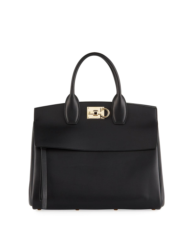 Salvatore Ferragamo Studio Medium Top Handle Bag  57e2919d18832