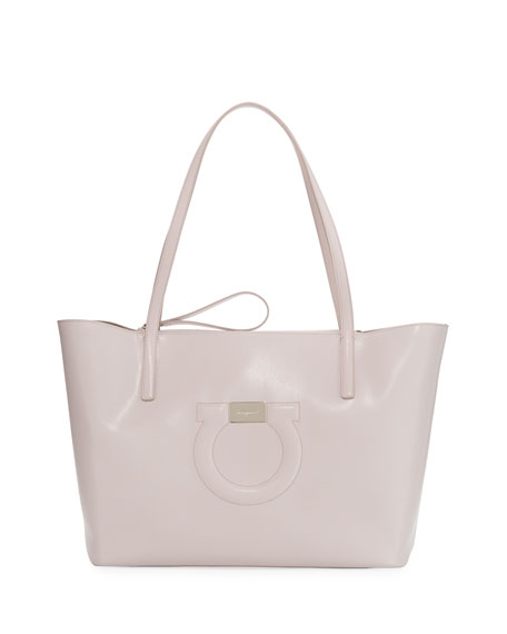 Salvatore Ferragamo Gancio City Medium Tote Bag