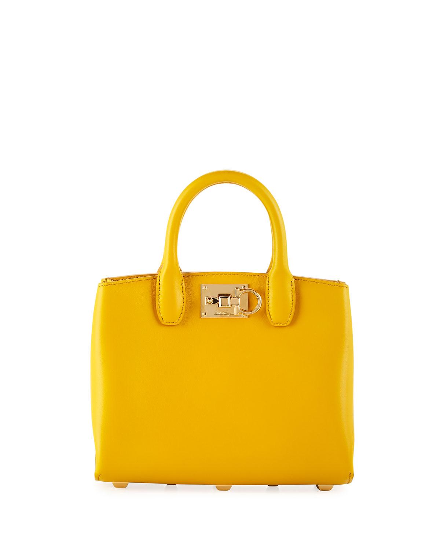 ae4674256905 Salvatore Ferragamo Studio Mini Top Handle Bag