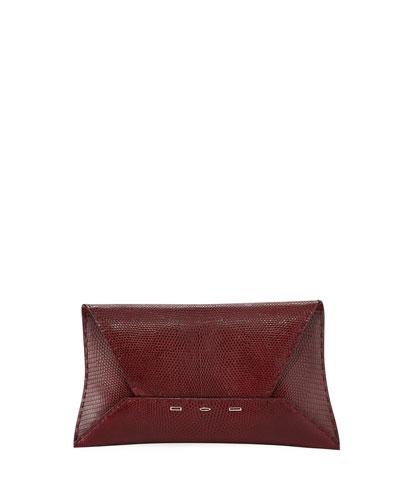 Manila Stretch Lizard Clutch Bag