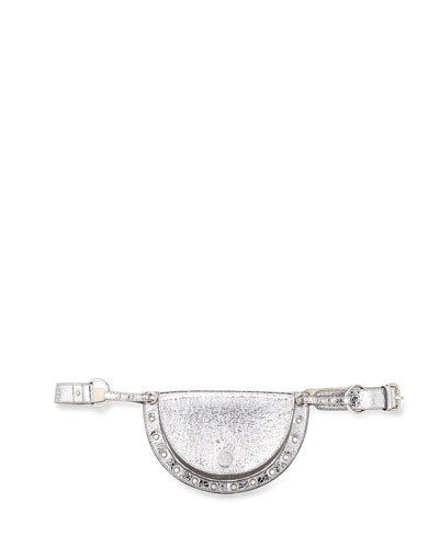 Kriss Belt Bag with Grommet Trim
