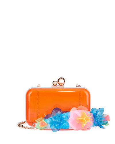 Vivi Jumbo Lilico Acrylic Box Clutch Bag