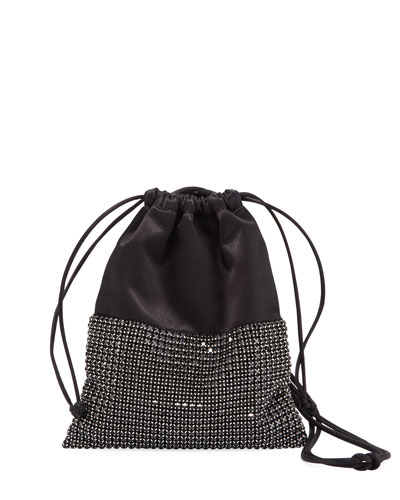 Ryan Mini Crystal Bucket Bag