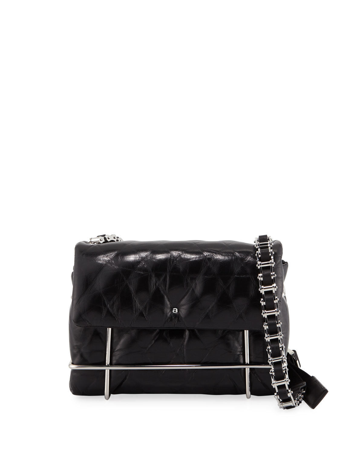 Exact Product: Halo Quilted Shoulder Bag, Brand: Alexander Wang, Available on: neimanmarcus.com, Price: $995