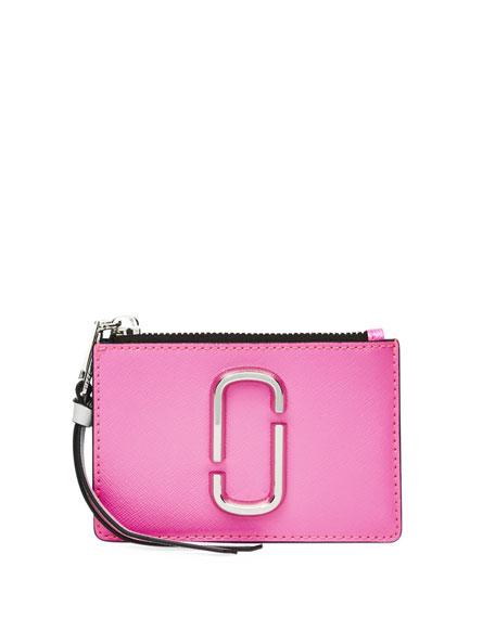 Marc Jacobs Colorblock Zip Card Wallet