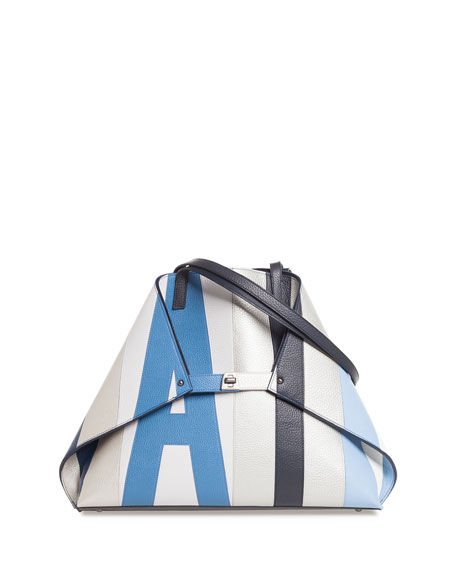 Akris Ai Reversible Shoulder Tote Bag