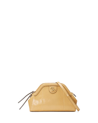 14fb99e19fd428 Gucci Re(Belle) Small Snakeskin Pochette Shoulder Bag