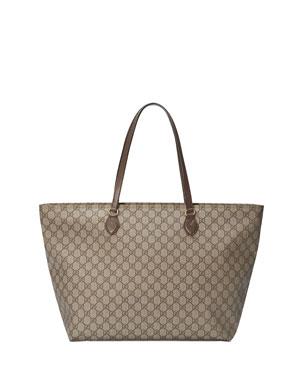 66df7a2b88a Gucci Ophidia Medium Soft GG Supreme Canvas Tote Bag