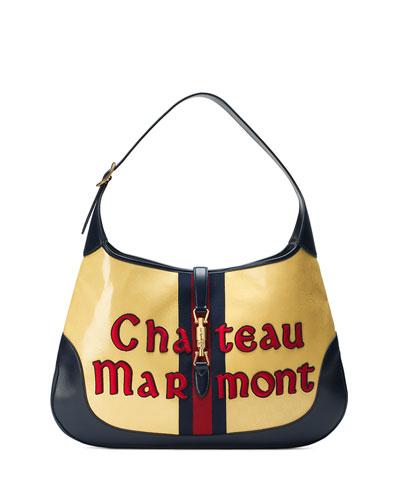 0f40bc56b6ff Gucci Jackie Maxi Chateau Marmont Hobo Bag