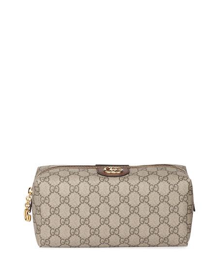 Gucci Ophidia Medium GG Supreme Cosmetics Case