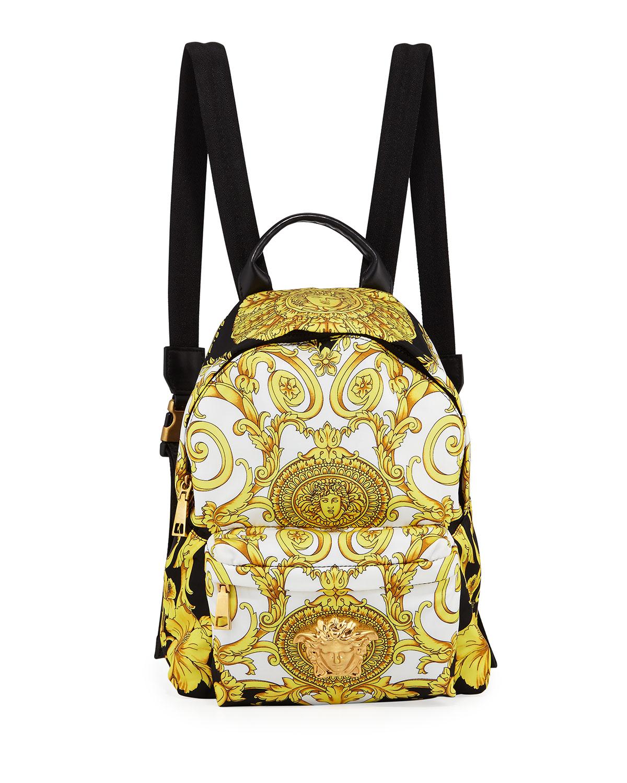 d86bd8c90d Versace Medusa Nylon Backpack