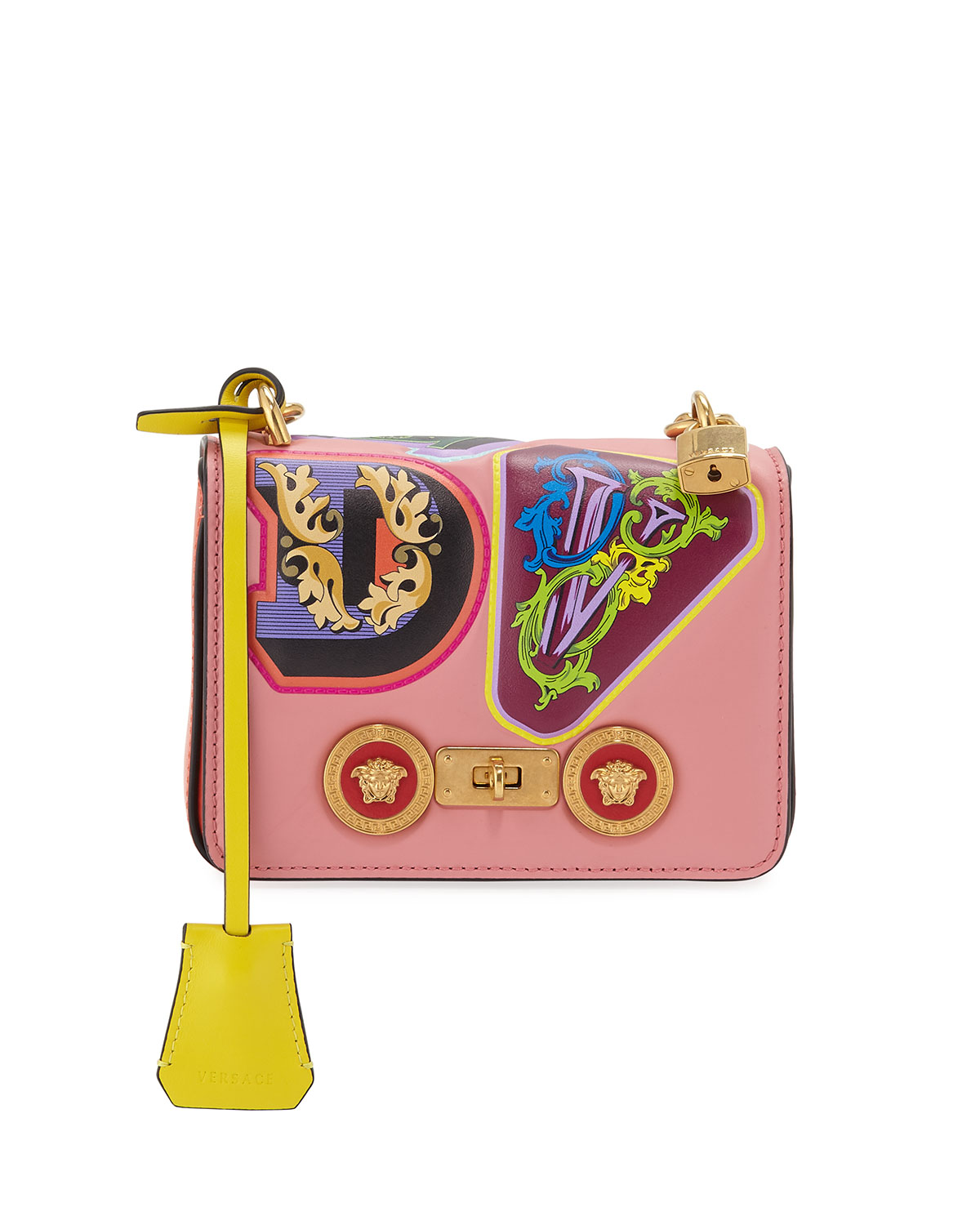 Icon Small Crossbody Bag by Versace