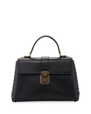 934cfb315b0e Bottega Veneta Piazza Small French Satchel Bag