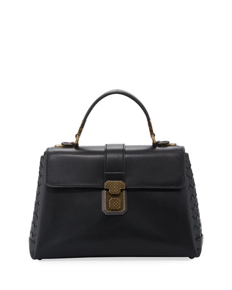Bottega Veneta Piazza Small French Satchel Bag