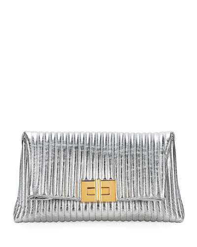 Natalia Quilted Pouch Bag