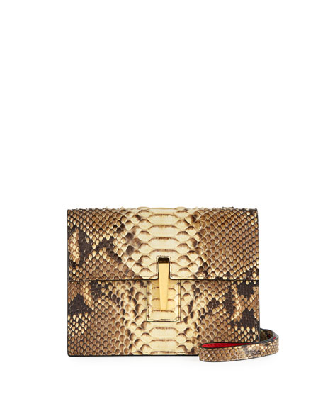 Hayward Python Mini Soft Shoulder Bag
