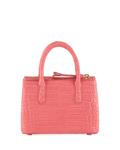 Nyx Medium Crocodile Tote Bag