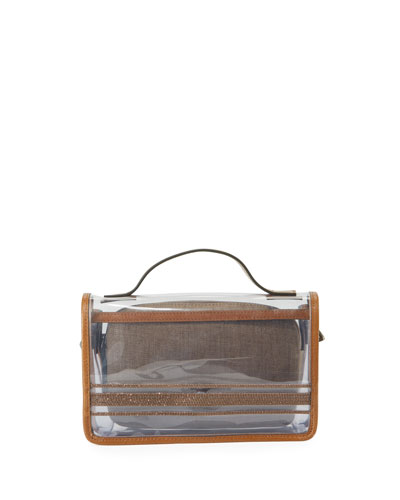 Monili See-Through Crossbody Bag