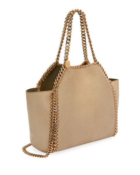Stella McCartney Falabella Mini Reversible Shaggy Deer Tote Bag