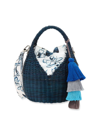 Heart Basket Crossbody Bag