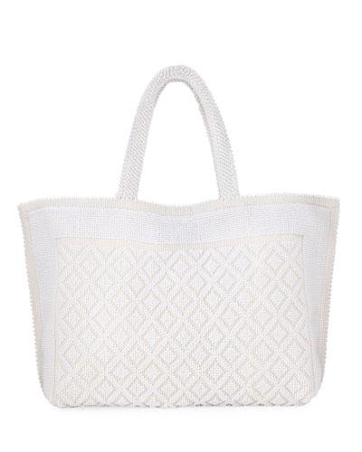 Nina Large Cotton Tote Bag