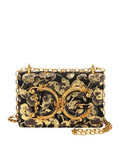 DG Jacquard Shoulder Bag