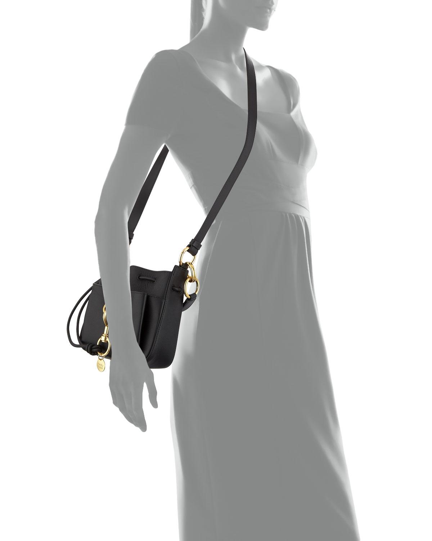8043e349b5 Tony Mini Leather Crossbody Bag